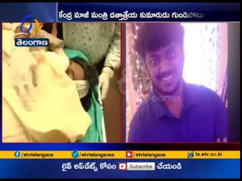 BJP MP Bandaru Dattatreya's 21 Year Old Son Vaishav Dies   of Heart Attack