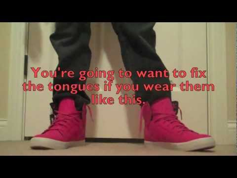 Supra Skytops On Feet Without Skinny Jeans