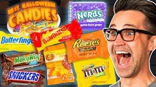 Best Halloween Candy Taste Test (Day 1)