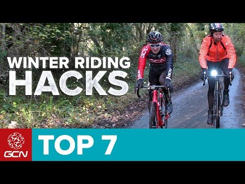 7 Hacks For Winter Cycling