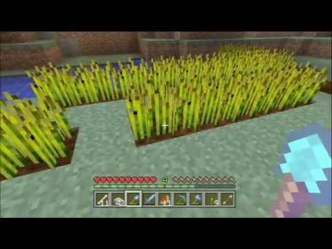 Minecraft Xbox 360 TU8 #94 - The Animal Pit, Wheat farming