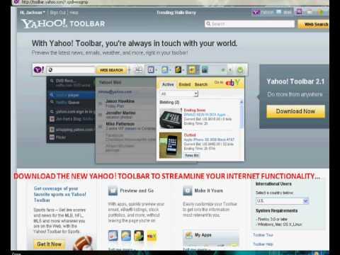 New Yahoo Toolbar   FREE Download