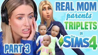 REAL MOM Tries Parenting Challenge in THE SIMS 4   PART 3