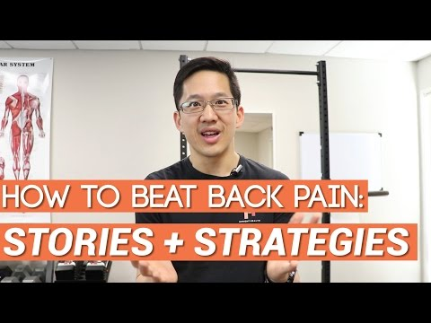 How to beat back pain: stories + basic strategies