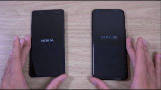 Nokia 8 vs Samsung Galaxy S8+ Speed & Camera Test!
