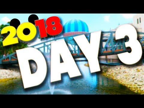 DISNEY WORLD & ORLANDO VLOGS 2018 - DAY 3