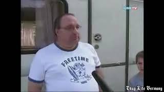 Thug Life Germany - Deutscher greift Ösie-Reporter im Stau an