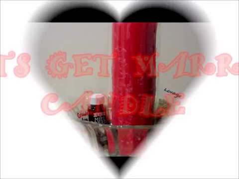 LETS GET MARRIED CANDLE SPELL (HOODOO LOVERS)-LOVE SPELL