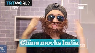 Chinese state media mocks India in viral video