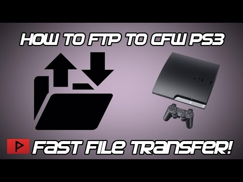 [How To] FTP Game Files to Modded PS3 (CFW) Using Filezilla Tutorial
