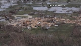 Barbuda widespread destruction following Hurricane Irma