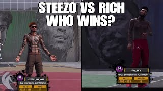I Played Steezo The God (the Best Dribbler In 2k18)