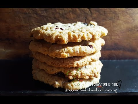 WORLDS BEST CHEWY VEGAN COCONUT OATMEAL COOKIES  | Connie's RAWsome kitchen - ASMR KITCHEN SOUNDS