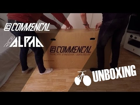UNBOXING - COMMENCAL ABSOLUT 26 RED 2017