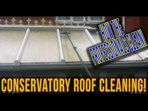 Conservatory Cleaning - Exterior conservatory clean WFP