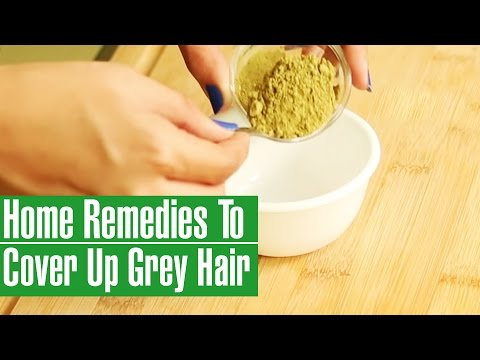 HOW TO COVER GREY HAIR At Home | Natural Remedies To Color Hair