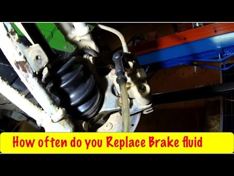 DIY ATV Gravity Bleed Brakes