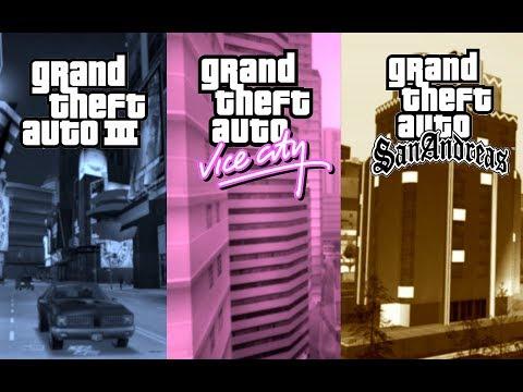GTA 3/Vice City/San Andreas Gameplay