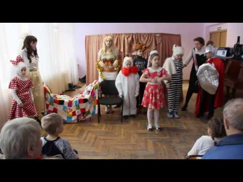 Поздравление с Рождеством Христовым в Комплексном центре социального обслуживания киришского района.