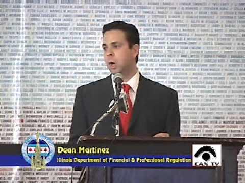 Dean Martinez, Secretary, Illinois Department of Financial & Professional Regulation