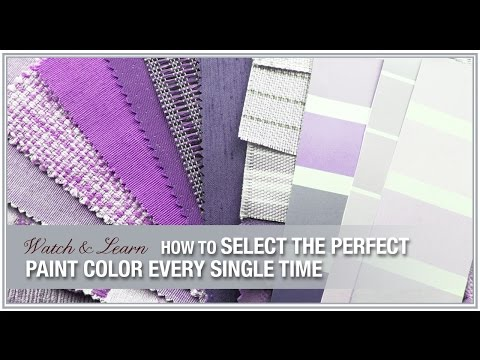 How to Select the Perfect Paint Colors Every Time, Paint Decorating Ideas and More!