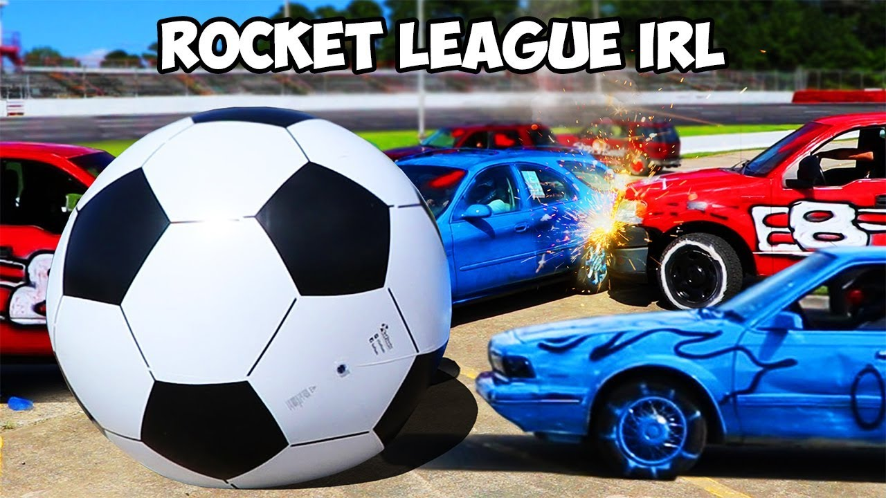 Rocket League In Real Life!