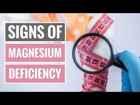 4 Signs and Symptoms of Magnesium Deficiency