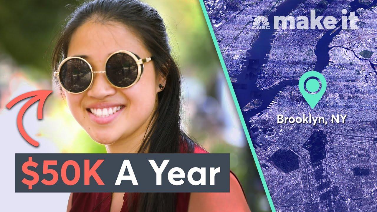 Living On $50K A Year In Brooklyn | Millennial Money