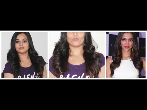 Deepika Padukone Inspired Outcurls | Bombshell Hairstyle | DIY Outcurls at home