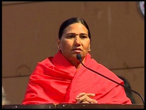 Sadhvi Devpriya Addressing Advance Yog Shivir & Rashtriya Karyakarini Baithak