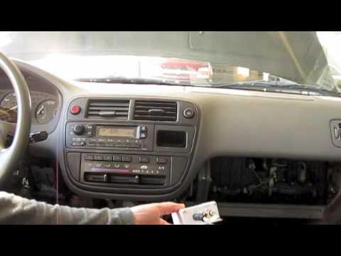 How to iPod a '97 Honda Civic