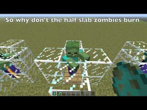 Minecraft 1.1 Bugs