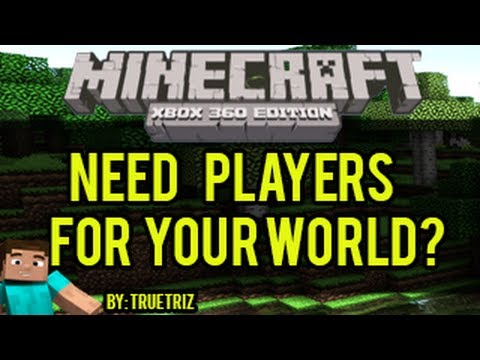 Minecraft (Xbox 360) - How To Find Players To Play Your Minecraft World