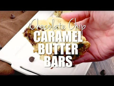 How to make: Chocolate Chip Caramel Butter Bars