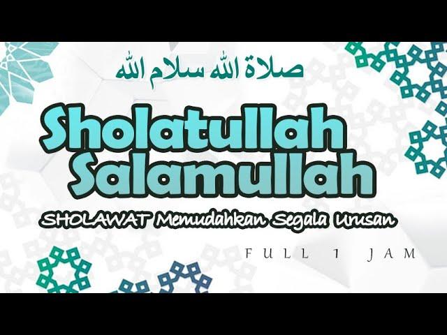 Sholawat Badar Merdu! Sholatullah Salamullah Full 1 Jam   Haqi Official