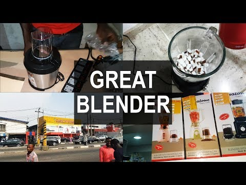 Follow Me as I Buy a Blender   Binatone Blender BLG-600S Review and Testing