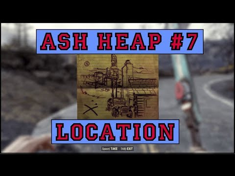 Fallout 76 | Ash Heap Treasure Map #7 LOCATION