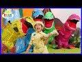 Ryan Pretend Play Rescue Jurassic World Fallen Kingdom Dinosaurs