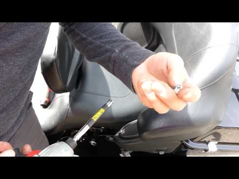 How to REMOVE your Harley Davidson seat.