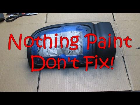 Fix'n up the brake lights on our Dodge.