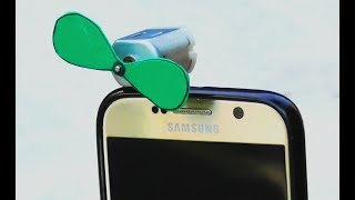 How to Make a Mini Fan for Mobile at Home |DIY