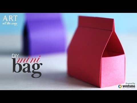 How to make: Mini Bag | Do It Yourself | Craft Tutorial