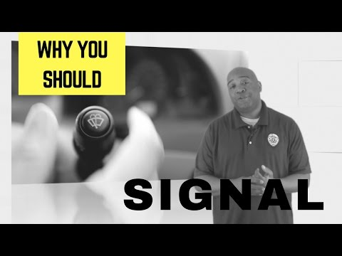 Why You Should Signal Your Lane Change Using Your Turn Signals | Traffic Safety