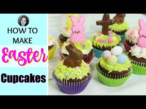 Easy Easter cupcakes 2018