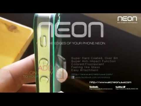 NEON - ACRYLIC SHIELD FOR SMART PHONE