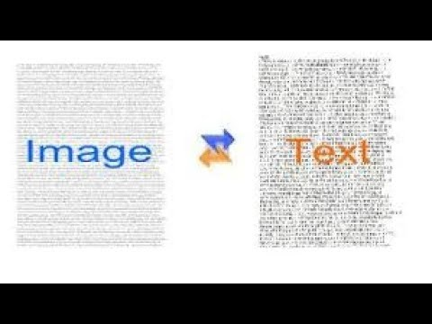 How to Convert Image to Editable text online from PC - No Software Needed