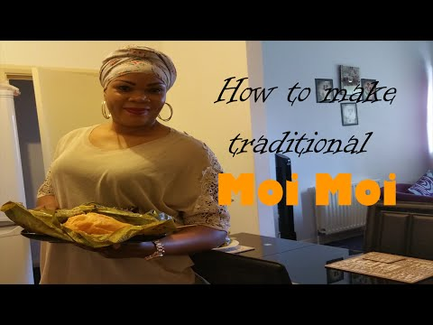 How to make TRADITIONAL MOI MOI