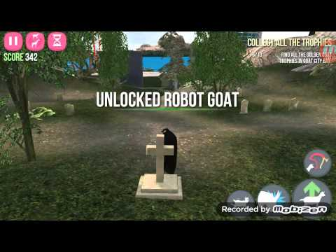 Android Goat simulate how to get the Robot Goat