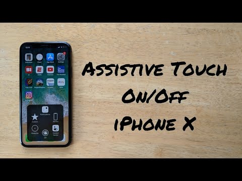 How to turn assistive touch On/Off iPhone X (10)