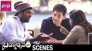 Mahesh Babu and Samantha Confuse Vennela Kishore | Brahmotsavam Movie | Kajal Aggarwal | Pranitha